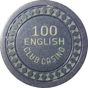 100 - English Club Casino – obverse