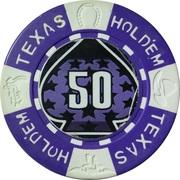 50 - Texas Hold'em – obverse