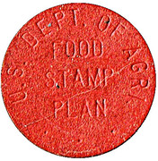 1 Cent - U.S. Department of Agriculture Food Stamp Plan (Farmer Jack's) – obverse