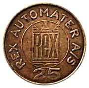 25 Øre - Rex Automater A/S – obverse