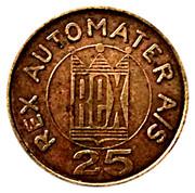 25 Øre - Rex Automater A/S – reverse
