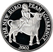Token - The New European Currency 2002 (Cyprus) – obverse