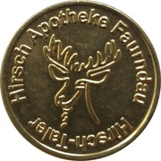Hirsch-Taler - Hirsch Apotheke (Faurndau) – obverse