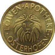 Löwen Taler - Löwen Apotheke (Osterhofen) – obverse
