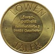 Löwen Taler - Löwen Apotheke (Osterhofen) – reverse
