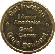 Löwen Taler - Löwen Apotheke (Gross-Gerau) – obverse