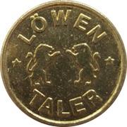 Löwen Taler - Löwen Apotheke (Gross-Gerau) – reverse