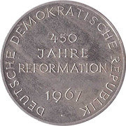 Token - 450 years of Reformation – obverse