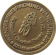 Wendelinustaler (Kreisstadt St. Wendel) – obverse