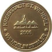 Wendelinustaler (Kreisstadt St. Wendel) – reverse
