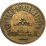 Beer Token - Hofbräu-Börsenkeller (Frankfurt am Main) – obverse