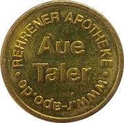 Aue Taler - Rehrener Apotheke (Auetal-Rehren) – reverse