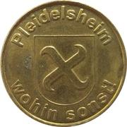Rosen-Taler - Rosen Apotheke (Pleidelsheim) – obverse