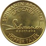 Töpfer Taler - Schwanen Apotheke (Speicher) – obverse