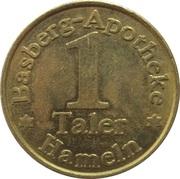1 Taler - Basberg Apotheke (Hameln) – reverse