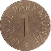 Parking Token - Gindl Parkmunze (1) – obverse
