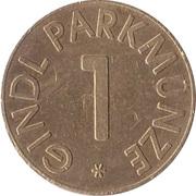 Parking Token - Gindl Parkmunze (1) – reverse