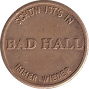Parking Token - Bad Hall – reverse