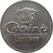 Token - Casino Ljubljana (Ljubljana) – obverse