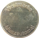Token - Wertmarke Münzautomat – obverse
