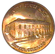 Token - Denver Mint (Department of the Treasury; 38.5 mm) – obverse