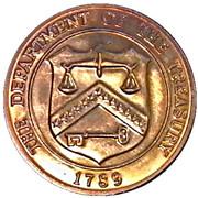 Token - Denver Mint (Department of the Treasury; 38.5 mm) – reverse