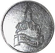 Token - Michigan 2000 – reverse