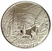 Medal - Pilgrimage of John Paul II to Lourdes – obverse