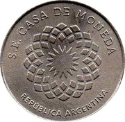 Token - Provincias del Rio de la Plata – reverse