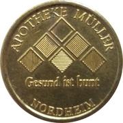 2 Nordheimer Müller-Mark - Apotheke Müller (Nordheim) – obverse