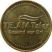 TE.AM Taler – reverse