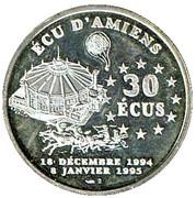 30 Ecu (Amiens) – obverse