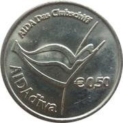 50 Euro Cent - AIDAdiva – obverse