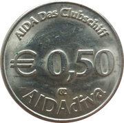 50 Euro Cent - AIDAdiva – reverse