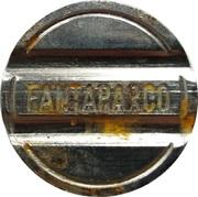 Token - Fantaparco (Borgone Susa) – reverse