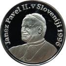 Token - Pope John Paul II. in Slovenia – obverse