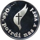 Token - Pope John Paul II. in Slovenia – reverse