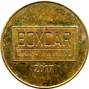 Token - Boxcar (Raleigh, Durham, Greensboro; North Carolina) – obverse