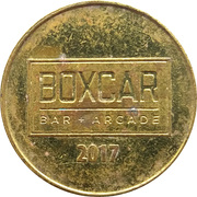 Token - Boxcar (Raleigh, Durham, Greensboro; North Carolina) – reverse