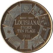 Mardi Gras Token - Knights of Momus (Louisiana) – obverse