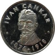 Token - Ivan Cankar – obverse