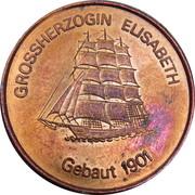 Token - Grossherzogin Elisabeth – obverse