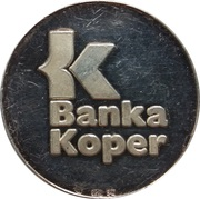 Token - RTV Slovenija & Banka Koper – reverse