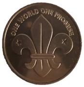 Token - 21st World Scout Jamboree – reverse