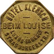Token - Hôtel Klensch (Luxembourg) – obverse
