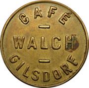 Token - Café Walch (Gilsdorf) – obverse