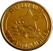Car Wash Token - Centre de Lavage Auto – obverse