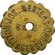 Token - Café Mertens (Luxembourg) – obverse