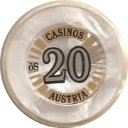 20 Schilling – reverse