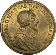 Token - Richelieu (Hoc Duce Tuta; Restrike) – obverse